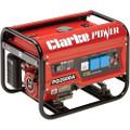 Latest Clarke PG2500A EURO5 2.2kVA 230V Petrol Generator