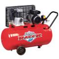 CLARKE RACER 9/100P 2HP 100 LITRE BELT DRIVEN AIR COMPRESSOR 230 VOLT