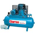 CLARKE SE46C270.40CFM 3PH 400 Volt 3PH 10HP WIS COMPRESSOR 270 Litre Tank