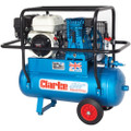 Latest Clarke XPPH15/50 Portable Petrol Driven Air Compressor 15CFM 6.5HP Honda 2092565