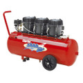 CLARKE SHHH AIR 5.3 CFM 100 LITRE QUIET RUN COMPRESSOR 116 psi