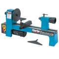 CLARKE WOODWORK CARPENTERS 325mm VARIABLE SPEED MINI WOOD LATHE CWL325V