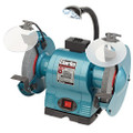 CLARKE METALWORK BENCH GRINDER COARSE/FINE 8 inch with Lights