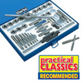 CLARKE 33 PIECE TAP & DIE SET IMPERIAL AND METRIC