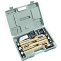 CLARKE CPB7CH 7 PIECE CAR REPAIR PANEL BEATING SET WITH HICKORY SHAFTS