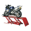 Latest CLARKE CML3 AIR and FOOT OPERATED MOTORCYCLE LIFT