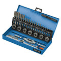 Latest CLARKE 32 PIECE MECHANICS ENGINEERS TAP AND DIE SET