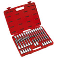 CLARKE 32 PIECE SOCKET SET TORX STAR PROFESSIONAL