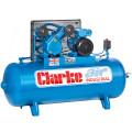 Latest Model Clarke Industrial Air Compressor - XEV16 150 litre tank 3HP 14 CFM 230 volt 2092272