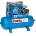 Latest Model Clarke Industrial Air Compressor - XEV16 100 litre tank 3HP 14 CFM 230 volt