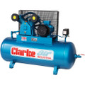 Latest CLARKE AIR COMPRESSOR   XEV26/200 4HP 400 volt WIS 18CFM 200 LTR 2092340