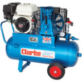 Latest Clarke XPP15/50 Portable Petrol Driven Air Compressor 15CFM 6.5HP Honda 2092560