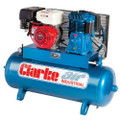 Latest CLARKE AIR COMPRESSOR HONDA ELEC START 23CFM 150 LTR SP27EC150