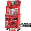 CLARKE CHT624 MECHANICS TOOL CHEST AND TOOLS PACKAGE