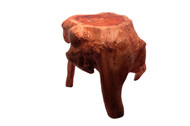 Carved Stool - Large