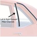 1961 - 64  Fullsize Quarter Glass Vertical Channel