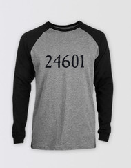 Les Miserables 24601 Raglan T-Shirt