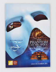 The Phantom of the Opera 25th Anniversary Souvenir Brochure