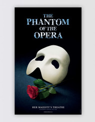 The Phantom of the Opera London Poster