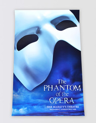 The Phantom of the Opera Blue Poster