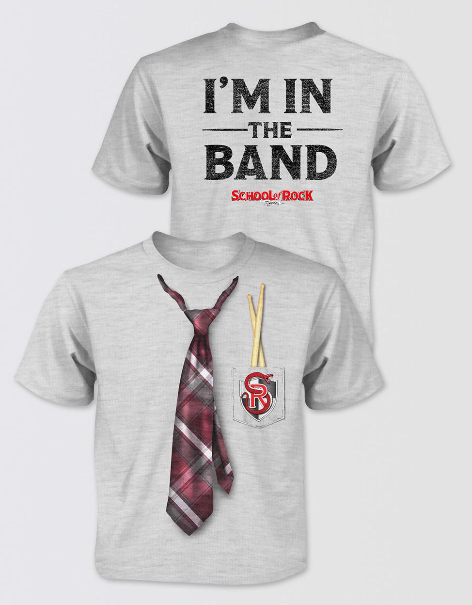 foto ufficiali d2280 ff6e6 SCHOOL OF ROCK Kids Tie T-Shirt
