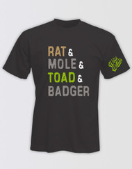 The Wind in the Willows 'Rat & Mole & Toad & Badger' Unisex T-Shirt