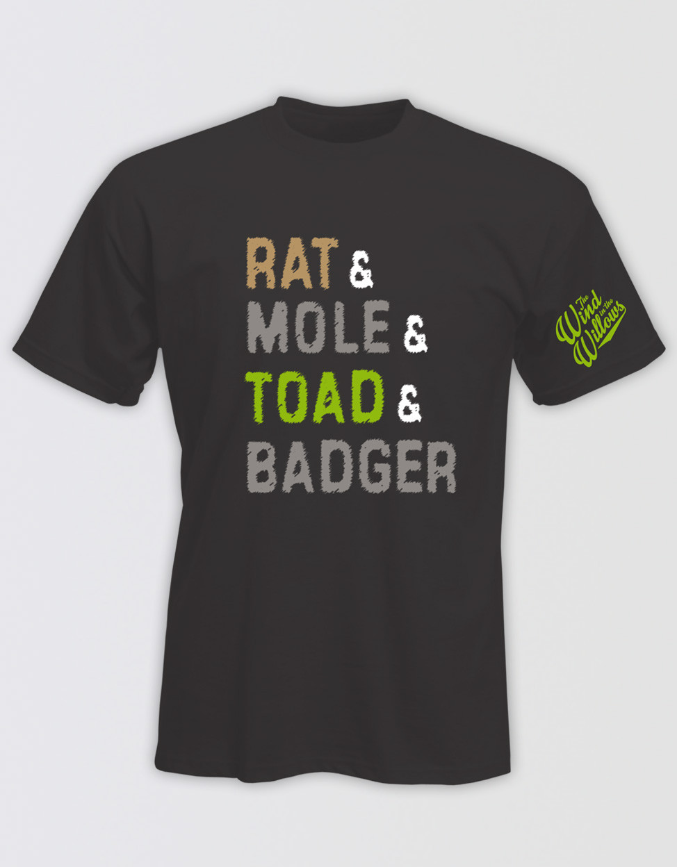 16045ed527c00 The Wind in the Willows 'Rat & Mole & Toad & Badger' Kids T-Shirt