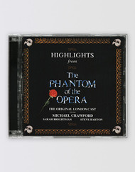 The Phantom of the Opera Original Cast Recording CD - Highlights