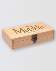Matilda The Musical  Wooden Pencil Case
