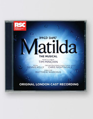 Matilda The Musical  London Cast Recording CD