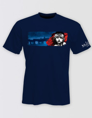 Les Miserables Navy Logo T-Shirt - LONDON