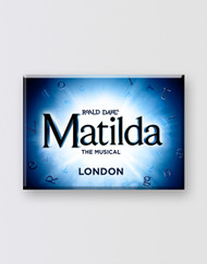 Matilda The Musical  LONDON Magnet - Logo