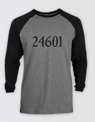 Les Miserables 24601 Raglan T-Shirt - LONDON