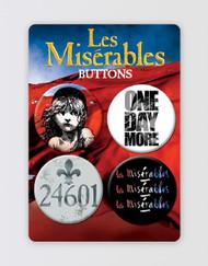 Les Miserables Button Badge Set [PRE-ORDER]