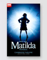 Matilda The Musical LONDON Poster