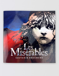 Les Miserables UK TOUR Souvenir Brochure