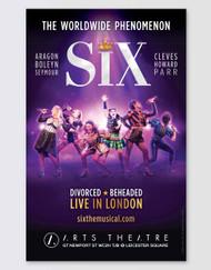 SIX Poster - London