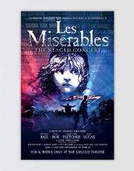 Les Miserables Concert Poster