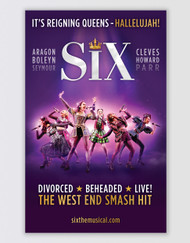 SIX Poster - UK Tour