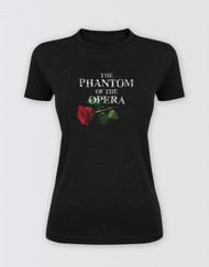 The Phantom of the Opera Glitter Logo T-Shirt