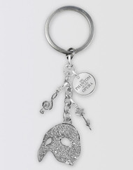 The Phantom of the Opera Keyring - Charm