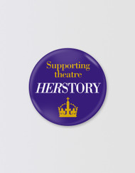 SIX Herstory Charity Pin Badge