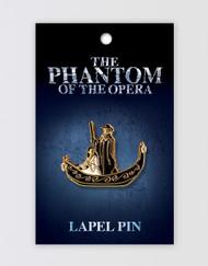 The Phantom of the Opera Lapel Pin - Boat