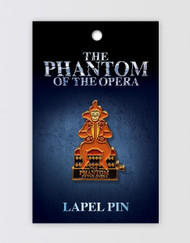 The Phantom of the Opera Lapel Pin - Monkey