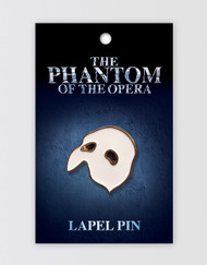 The Phantom of the Opera Lapel Pin - Mask