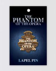 The Phantom of the Opera Lapel Pin - Chandelier