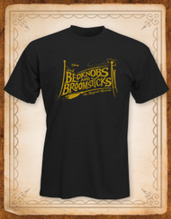Bedknobs and Broomsticks Logo T-Shirt - Adults