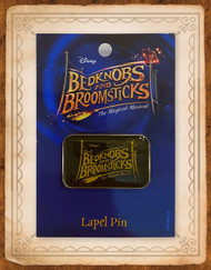 Bedknobs and Broomsticks Lapel Pin