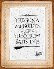 Bedknobs and Broomsticks Tea Towel