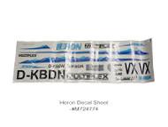 HERON DECAL SHEET